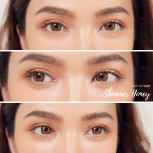 Neo Cosmo Shimmer Honey Contact Lens