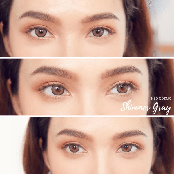 Neo Cosmo Shimmer Gray Contact Lens