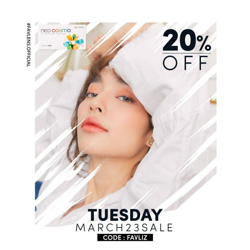 Tuesday Promotion Favlens